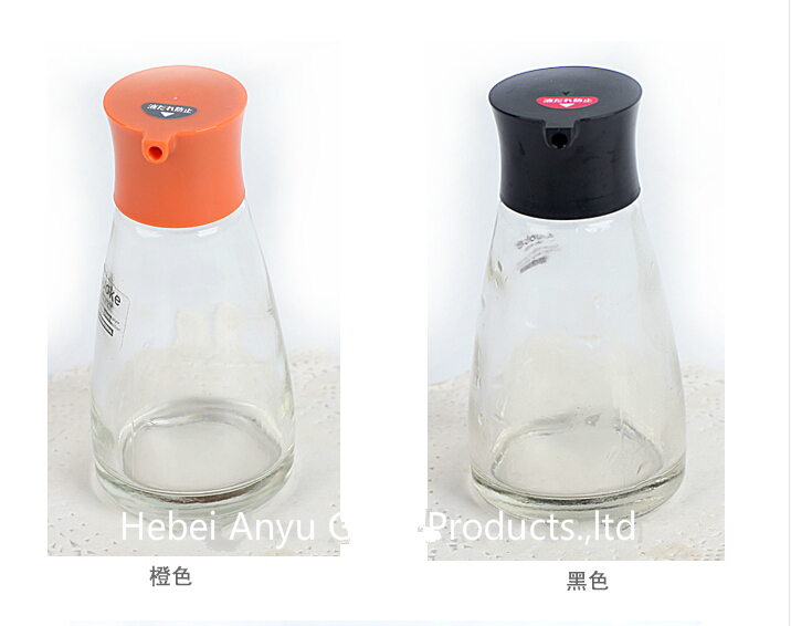 72gram Salt and Pepper Shakers BBQ Glass Spice Bottle