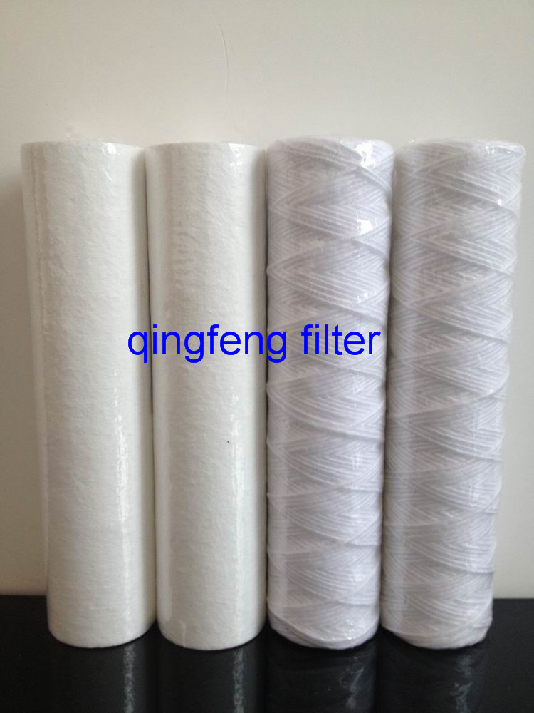 PP Cotton String Wound Wasserfilterpatrone