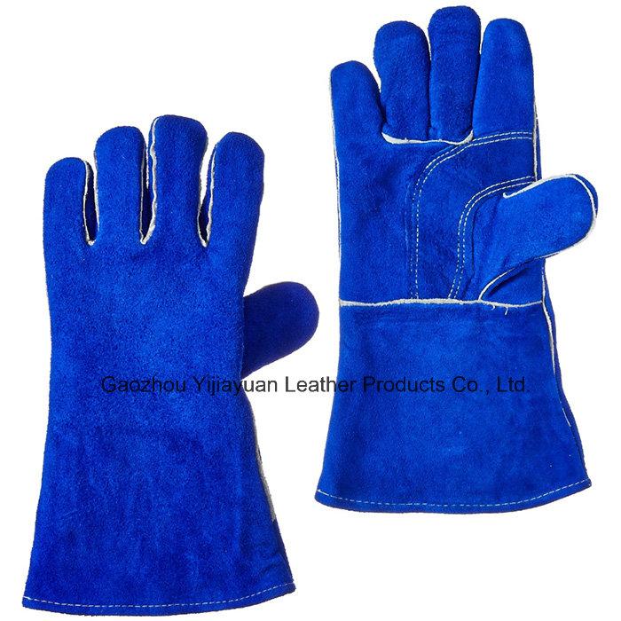 Industrial Welders Working Welding Gloves