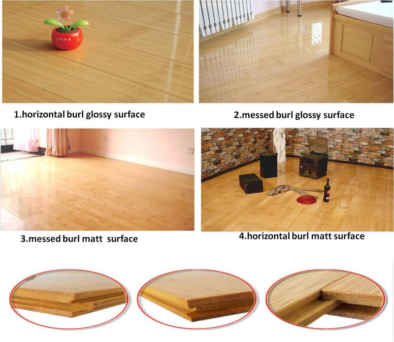 China Manufacture Prefinished Natural Strand Woven Bamboo Flooring