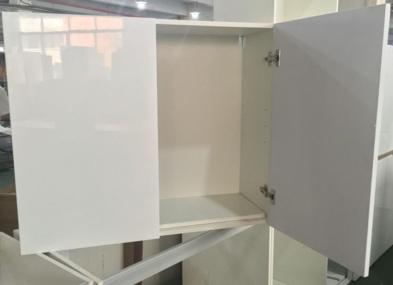 Plywood Kitchen Cabinets with Melamine Face (OEM)