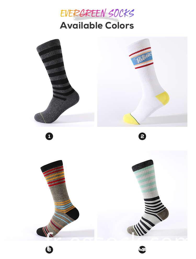 Fashion Non Slip Sport Running Knitted Socks