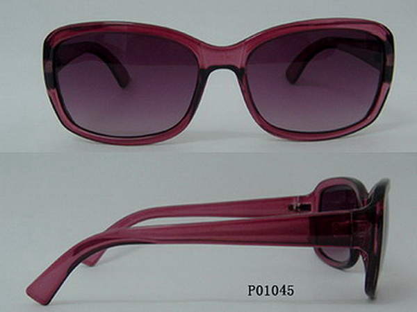 Acetate Sunglasses with Hot Selling P01045