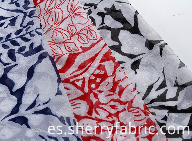 Hot sale chiffon printed fabric