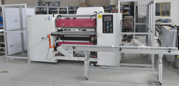 Double-Layer ECG Paper Thermal Paper Slitter Rewinder Paper Slitting Machine
