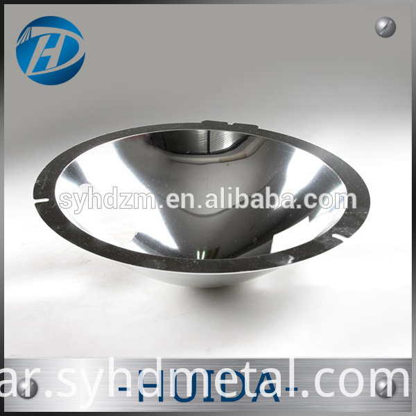 Aluminum mirror polishing lamp cup