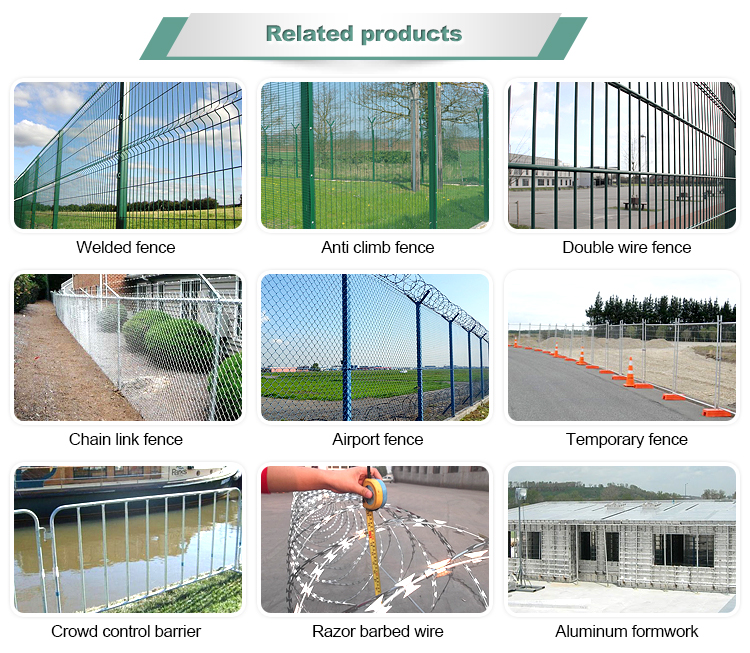 temporary fence related mesh