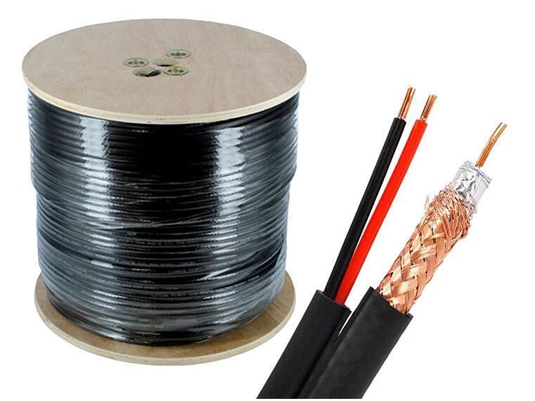 Câble de caméra Câble coaxial Câble de vidéosurveillance Câble d'alarme