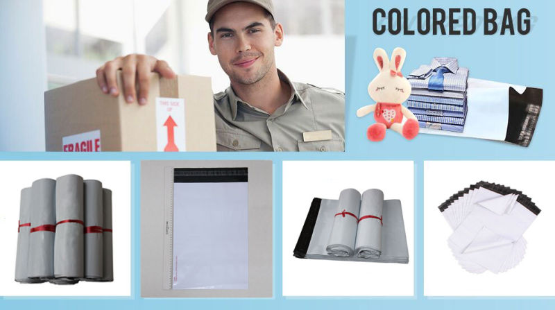 Customized Printed Courier Plastic Mailer/Self Sealing Poly Mailers/Express Courier Mail Bag
