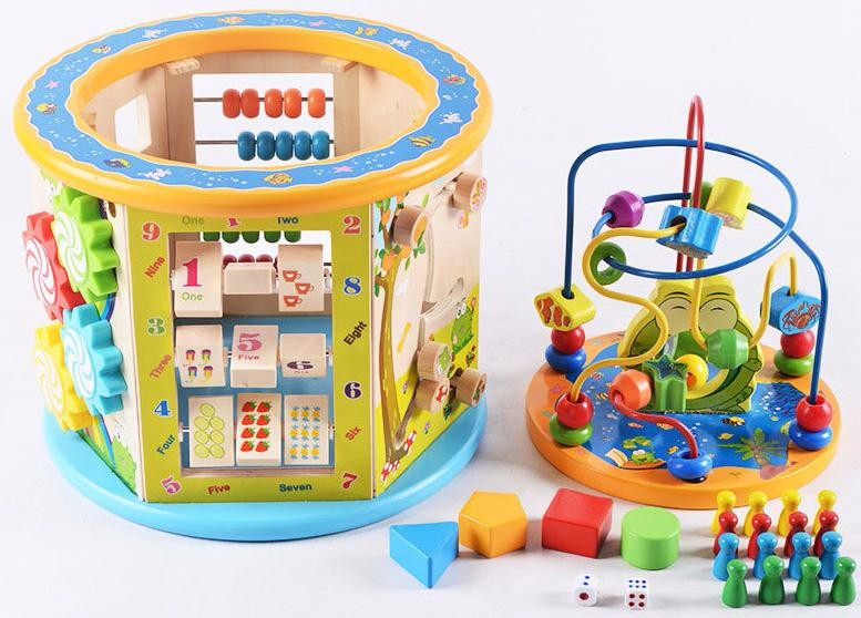 Toddler Educational Toy Bead Maze