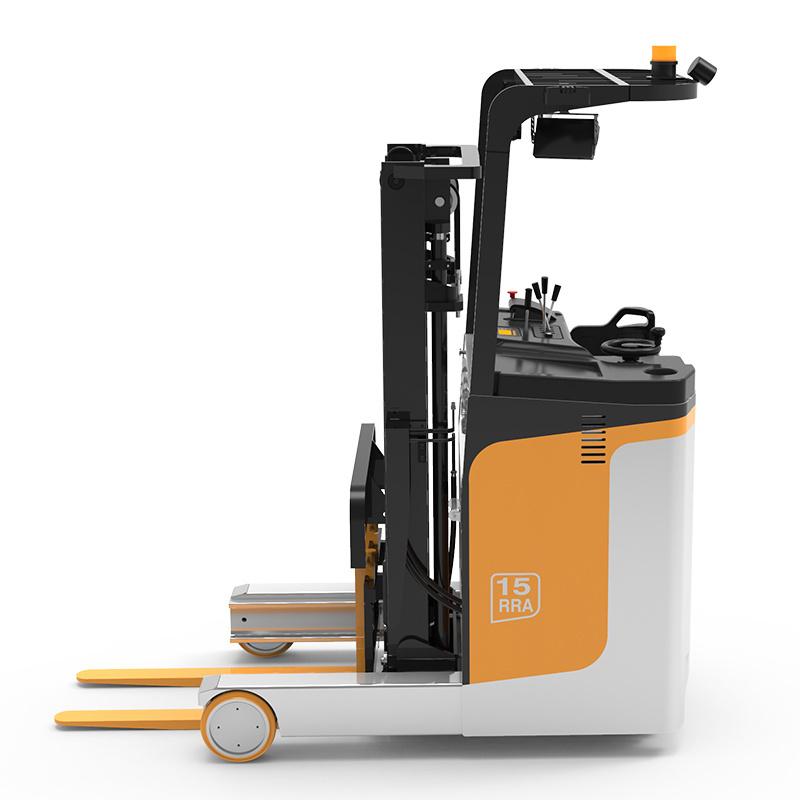 Empilhador de alcance de empilhadeira com altura de levantamento de 5,5 m pode ser personalizado CE ISO9001