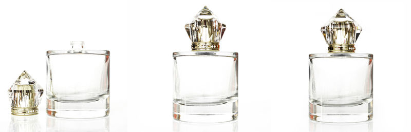 Hot Selling 100ml Perfume Glass Bottle with Surlyn Cap