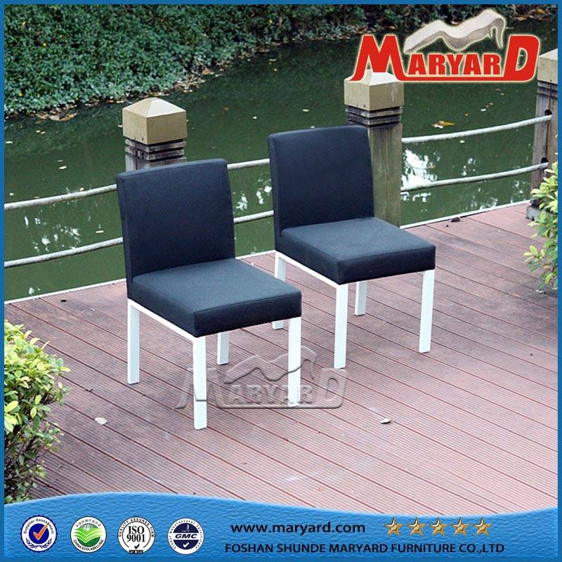 Outdoor Upholstered Fabric Dining Chair