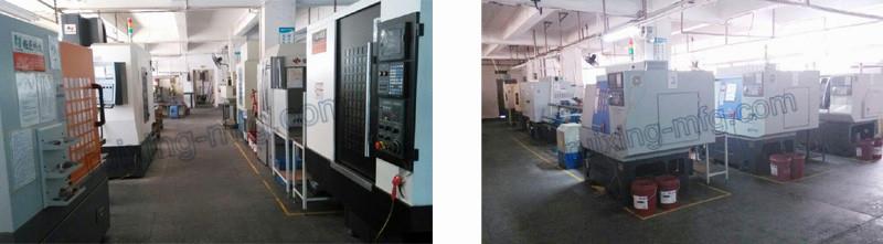 Custom Made Service CNC Turning Aluminum Parts for Track Lighting Front Bezel