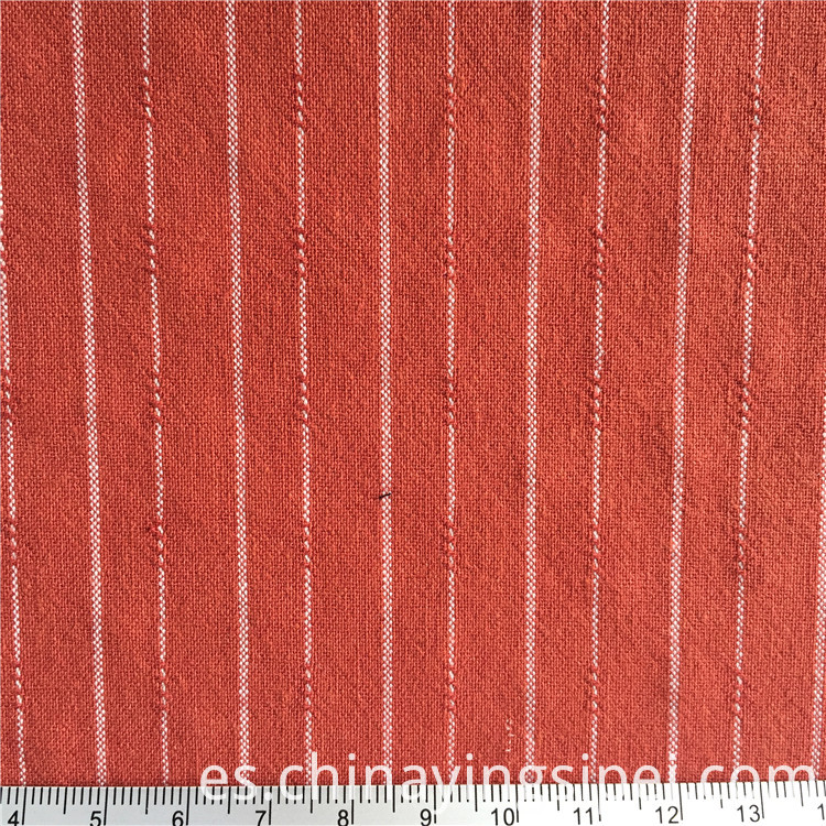 stocklot crepe woven 100% cotton jacquard fabric