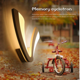 Exquisite Children Lighting Lamp Comfortable Environmental Protection Type Wall Lamp