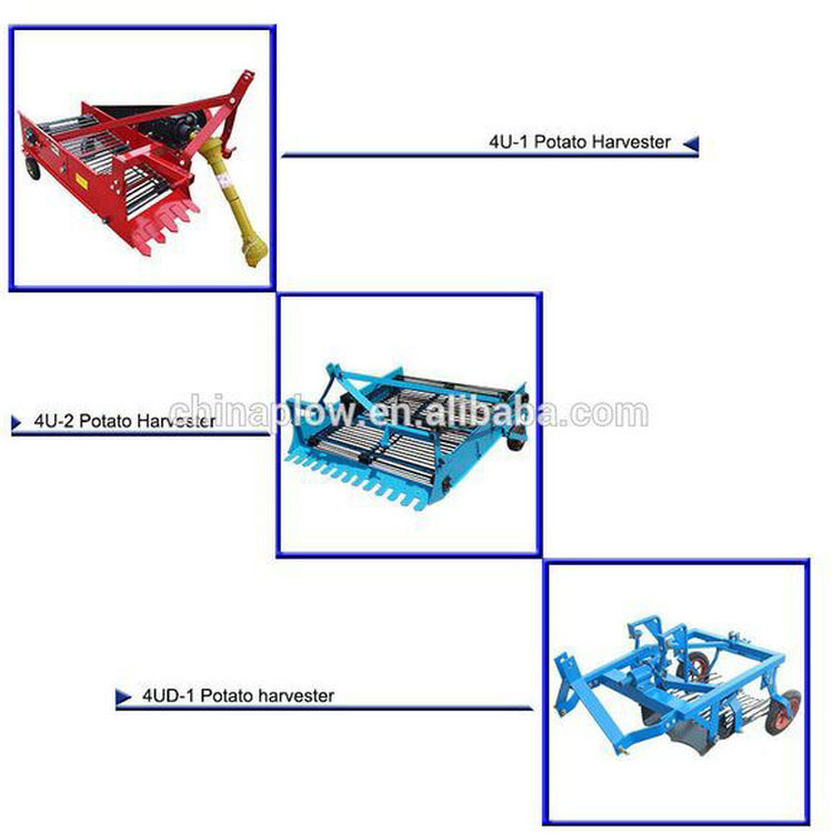 Farm Compact Structure Potato Harvester Made in China