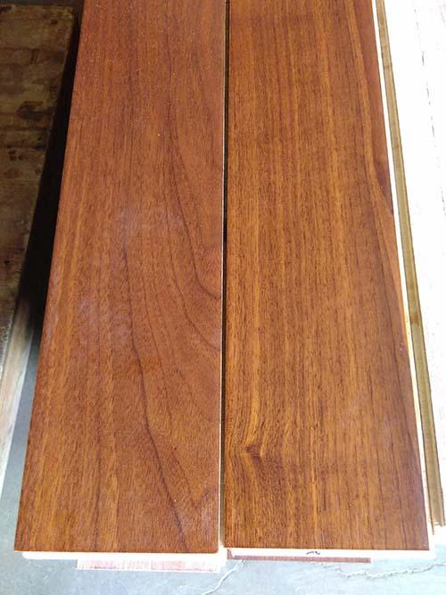 15mm Multi-Layer Engineered American Black Walnut Wood Flooring