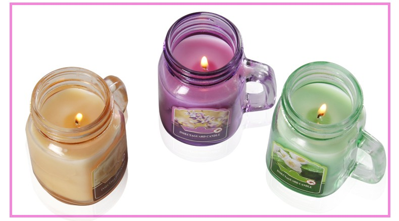 Citronella Perfume Summer Candles