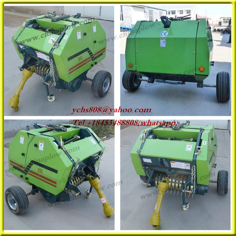 High Efficiency Tractor Round Baler