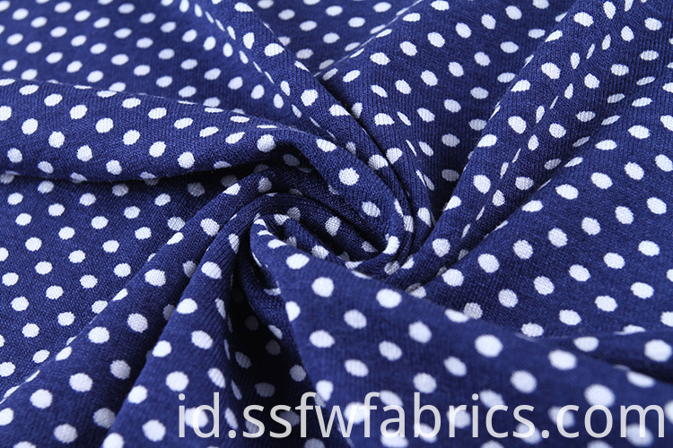 Custom Polka Dot Fabric Dress
