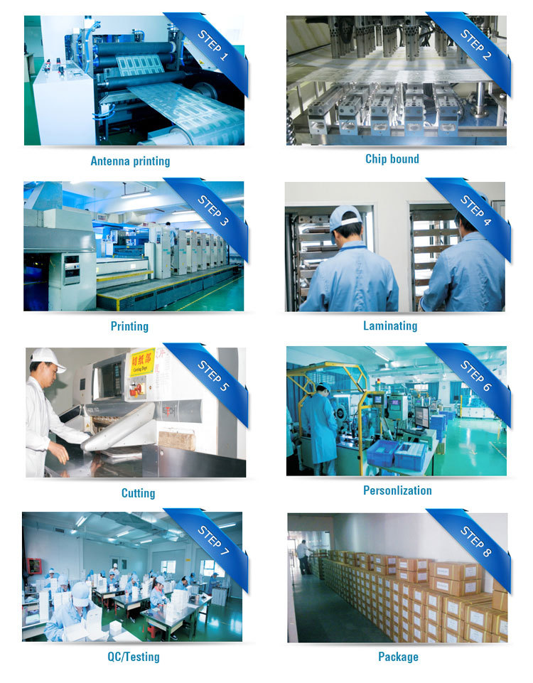 Factory Supply Contactless Smart Chip Card Access Control