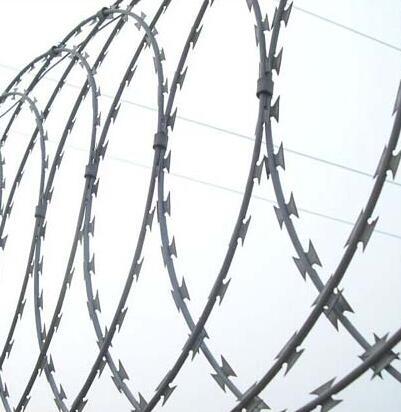 High Quality Galvanized Razor Barbed Wire
