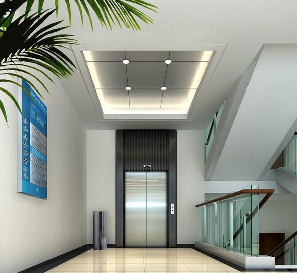Kc Good Decoration Passenger Lift Without Machine Room