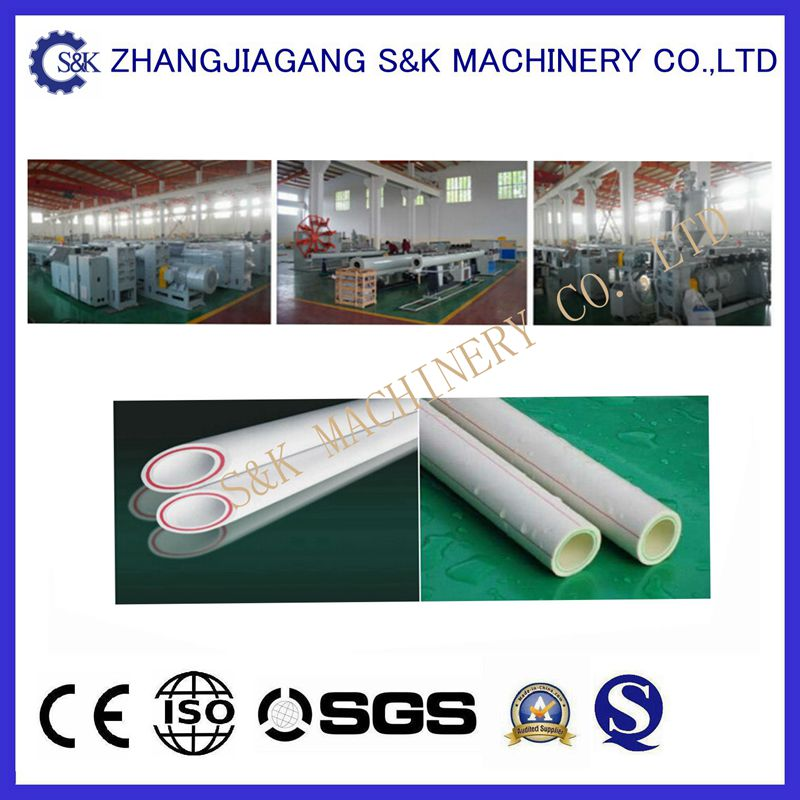 Industrial Recycled PPR Pipe Extruding Machine