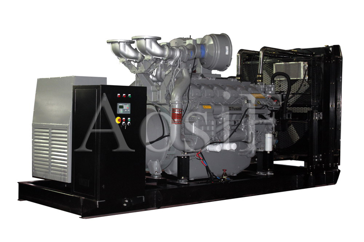 Aosif Electric Generator Original Engine Made in India Powered by Perkins