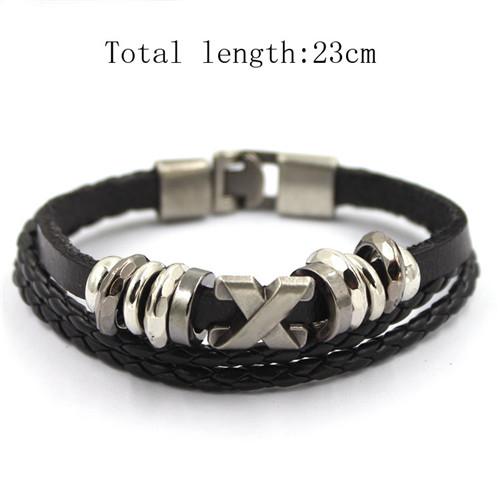 New Design Handmade Bracelet Multilayer Leather Bracelets