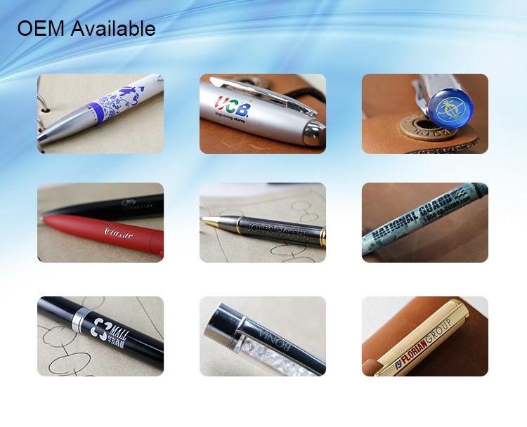 Slim Plastic Pen Metal Pen for Gift Pen (TP-028)