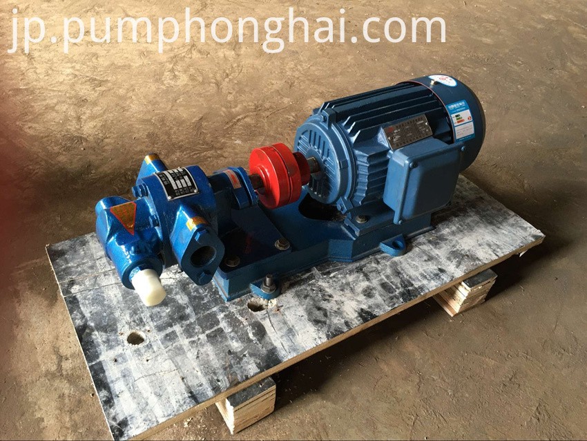 thick oil gear pump