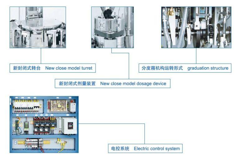 (NJP-2000/3000/3500) Automatic Capsule Filling Machine
