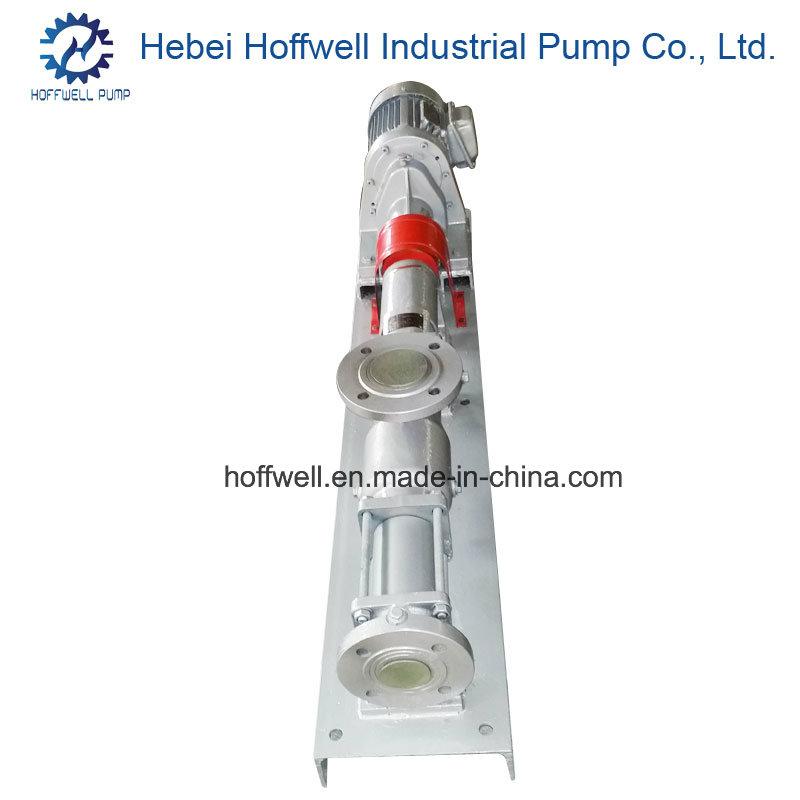 CE Approved G35-2 Mono Screw Sludge Pump
