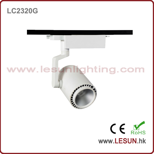 New Issue 30W White/Black COB Track Lamp for Fashion Shop LC2328g