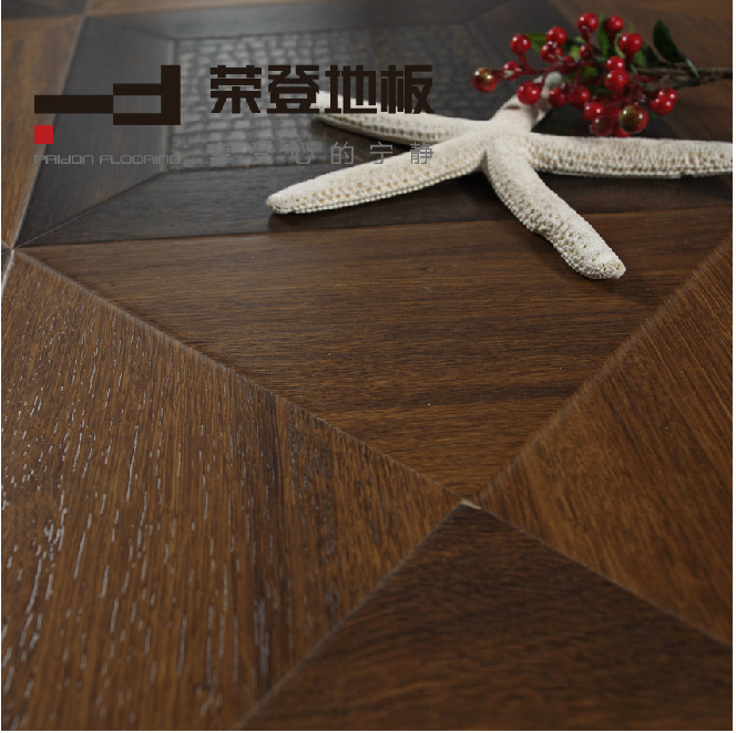 600*600*12mm Silk Surface Parquet HDF Laminated Flooring