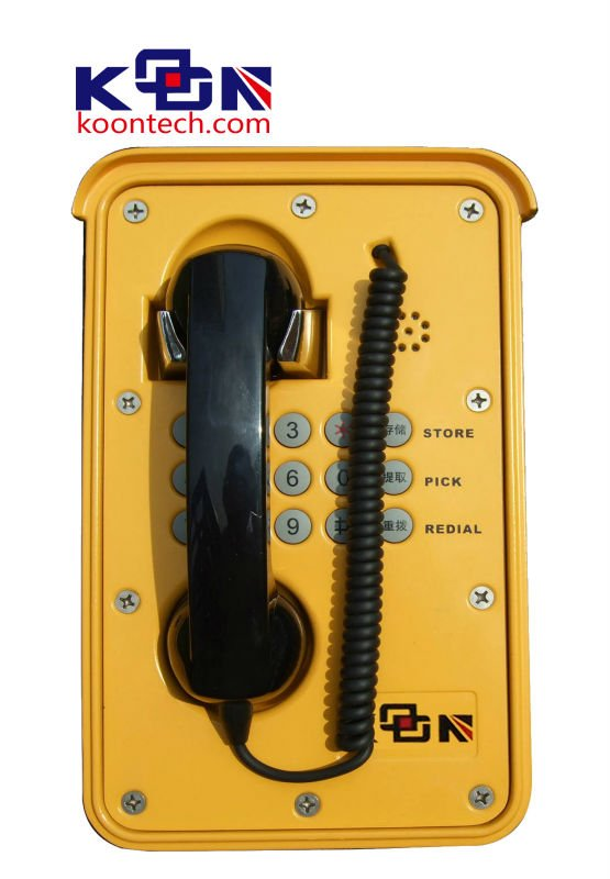 2015 Special Phone Telephone Voice Changer Auto-Dial Waterproof Phone
