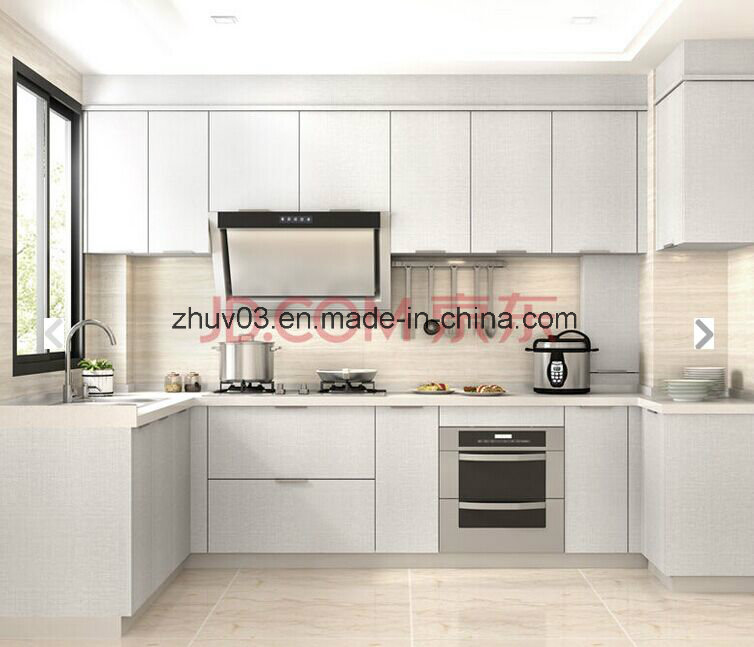 White Two Pack Lacqure Kitchen Cupboard (ZHUV)
