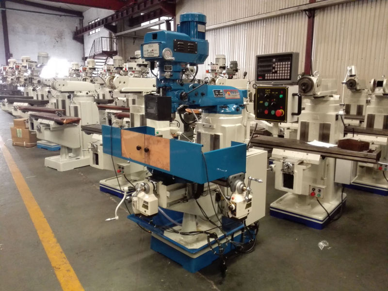 Turret Milling Machine Mf1v