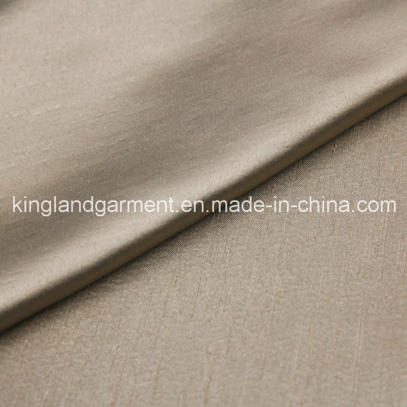 Polyester Inherently Flame Retardant Jacquard Brown Woven Fireproof Curtain/Sofa Fabric