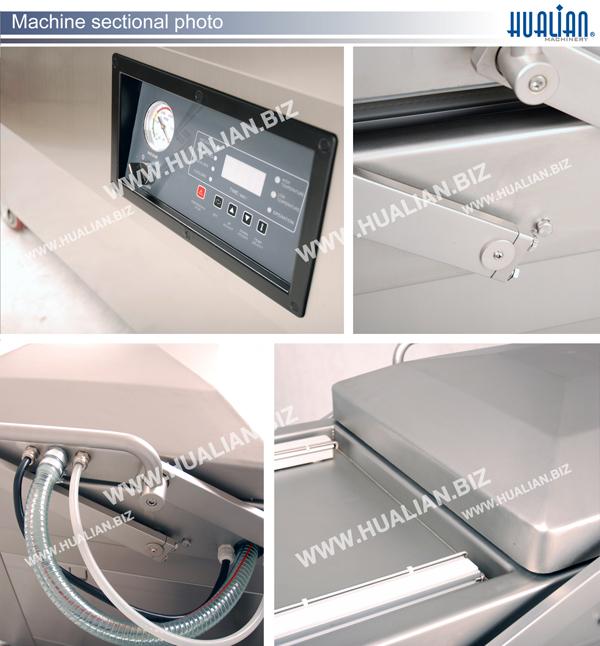 Hualian 2016 Vacuum Packaging Machine (HVC-510S/2A)