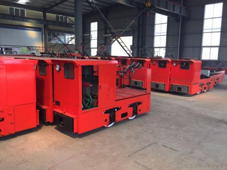 China Coal Mining Use Diesel Locomotive