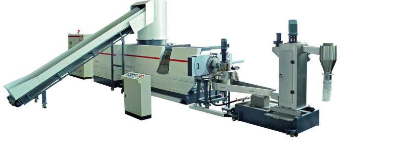 150kg/Hr PP PE Film Granulating Recycling Machine for Extruding