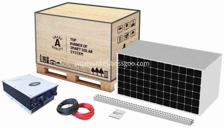3kw Solar system House packing