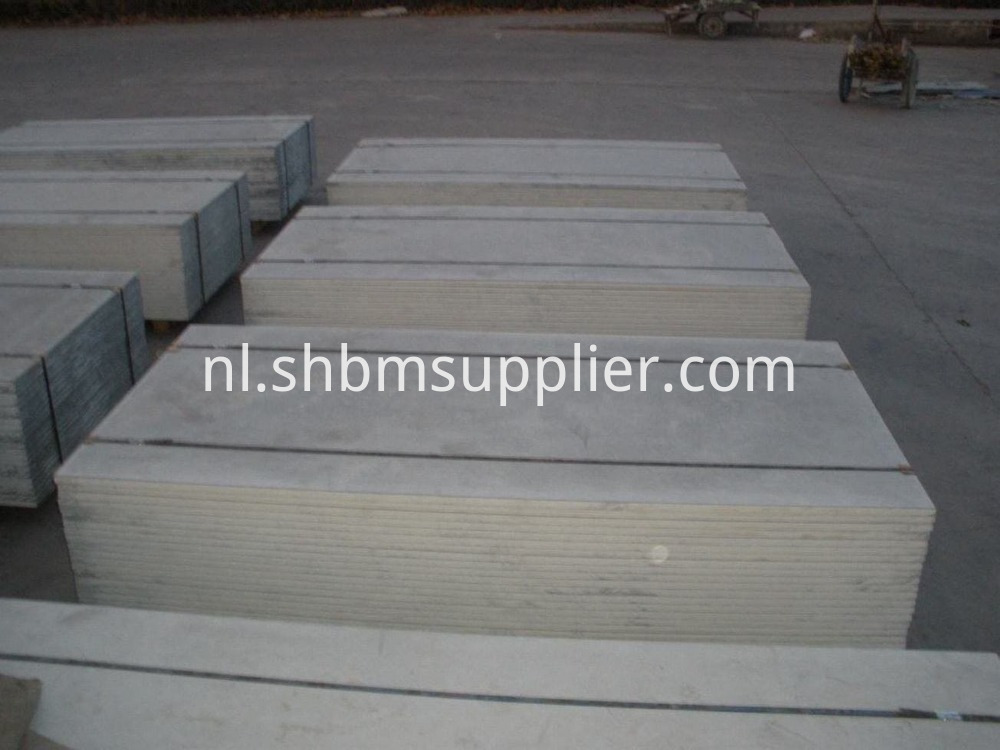 Fire-proof calcium silicate board