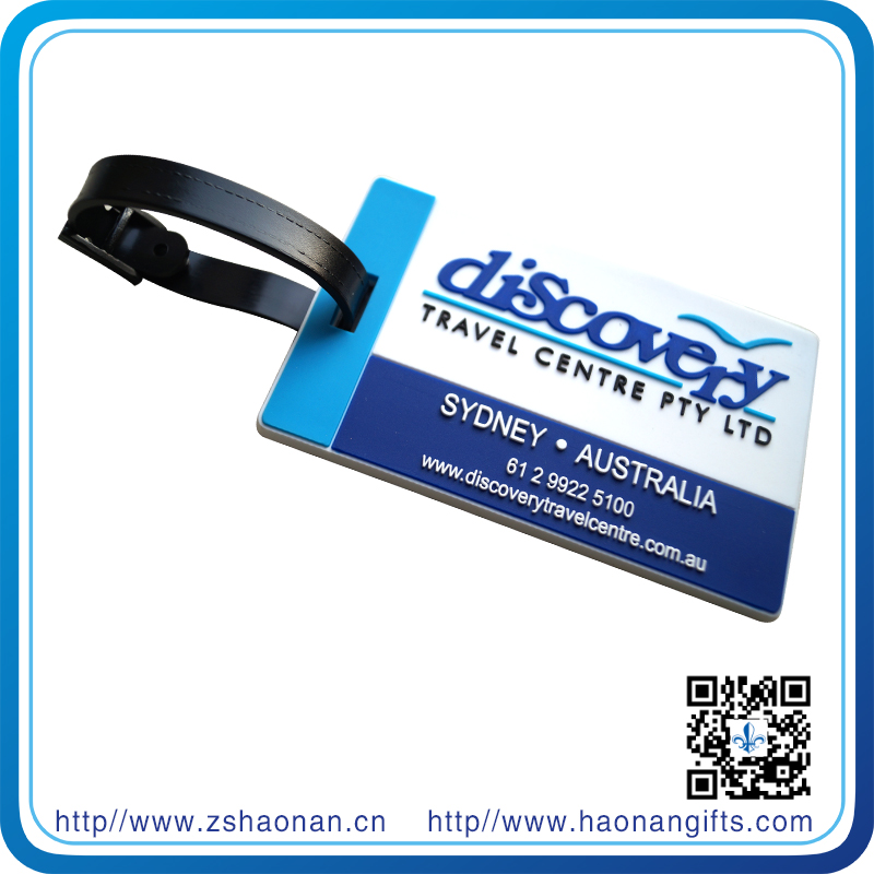 Europe Popular Colorful Leather Luggage Tag in Manufacturer Price