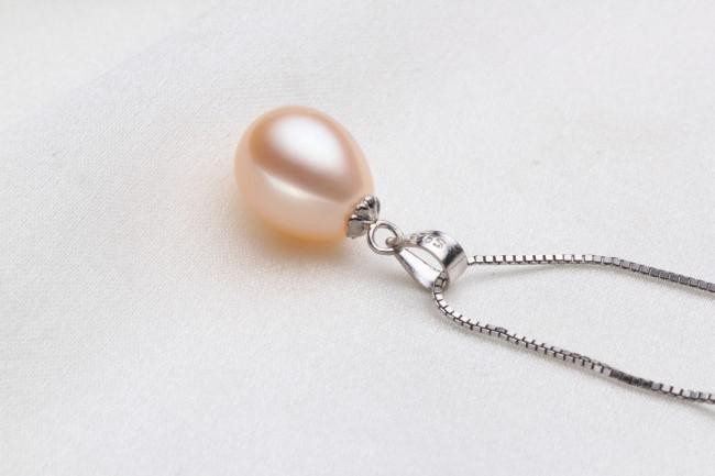 3 Colors 8-9mm Drop AAA Fashion Freshwater Pearl Pendant