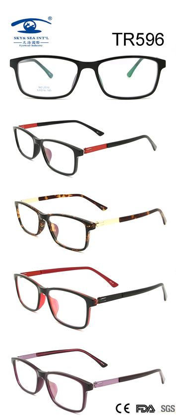 Tr90 Optical Glasses Eyewear Frame (TR596)
