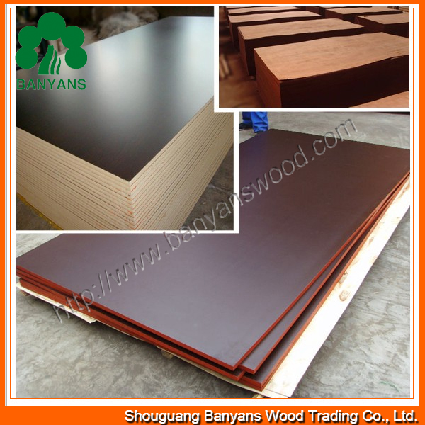 Construction Film Faced Shuttering Parrow Ply Phenolic Plywood